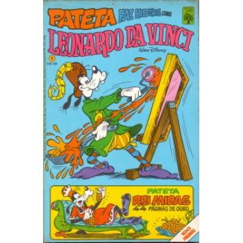 35386 Pateta Faz História 3 (1981) Editora Abril