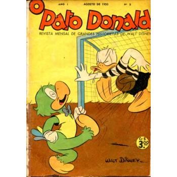 38046 Pato Donald 2 (1950) Editora Abril
