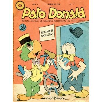 Pato Donald 1 (1950) Reedição