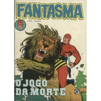 33907 Fantasma 301 (1980) Editora RGE