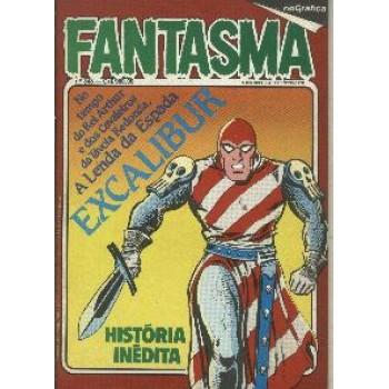 33953 Fantasma 348 (1984) Editora RGE