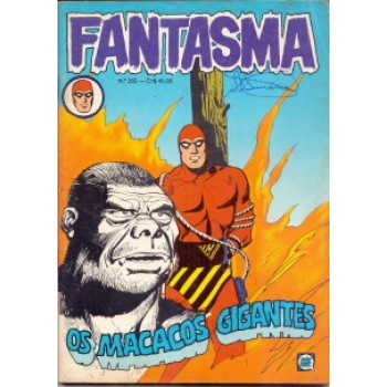37464 Fantasma 302 (1981) Editora RGE