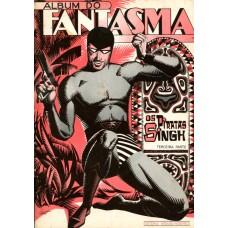 Álbum do Fantasma Os Piratas de Singh 3 (1980)