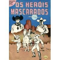 Edição Especial de Álbum Gigante (1981) Os Heróis Mascarados