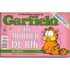 35651 As Melhores Piadas de Garfield 3 (1994) Editora Abril