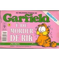 35652 As Melhores Piadas de Garfield 3 (1994) Editora Abril