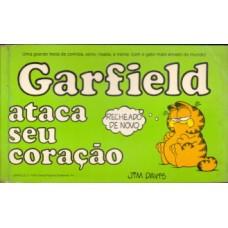 35682 Garfield Ataca Seu Coração (1983) Editora Cedibra