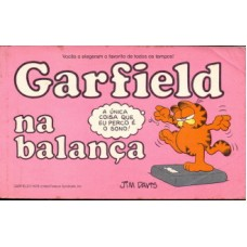 35684 Garfield na Balança (1984) Editora Cedibra