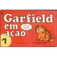 35690 Garfield em Ação 1 (1980) Salamandra Editora