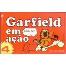 35692 Garfield em Ação 4 (1984) Salamandra Editora