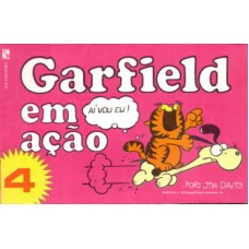 35693 Garfield em Ação 4 (1984) Salamandra Editora