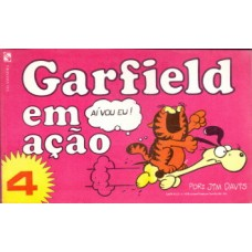 35694 Garfield em Ação 4 (1984) Salamandra Editora