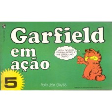35695 Garfield em Ação 5 (1984) Salamandra Editora