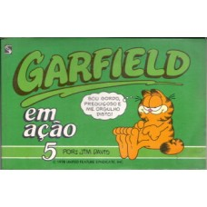 35696 Garfield em Ação 5 (1989) Salamandra Editora