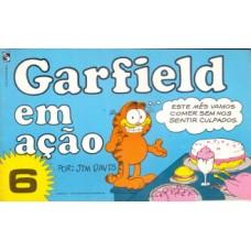 35697 Garfield em Ação 6 (1984) Salamandra Editora
