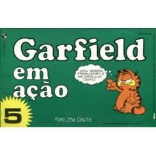 39096 Garfield em Ação 5 (1984) Salamandra Editora