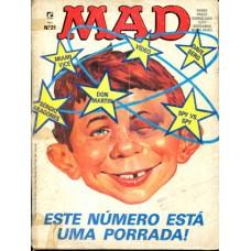 41456 Mad 21 (1986) Editora Record