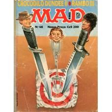 41465 Mad 46 (1988) Editora Record