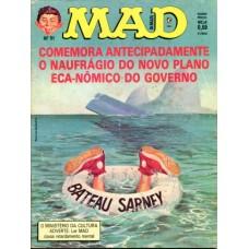 41468 Mad 51 (1989) Editora Record