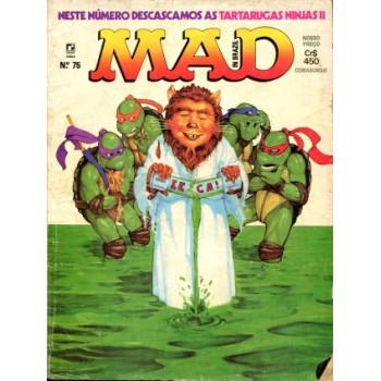 41477 Mad 75 (1991) Editora Record
