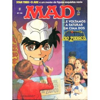 41490 Mad 116 (1995) Editora Record