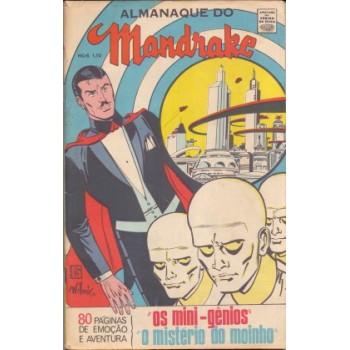 37420 Almanaque do Mandrake (1968) Editora RGE