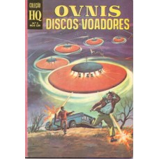 36997 Coleção HQ 2 (1970) Ovnis Discos Voadores Editora Ebal