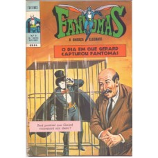 37035 Fantomas 9 (1971) 1a Série Editora Ebal