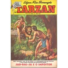 37251 Tarzan 47 (1969) 3a Série Editora Ebal