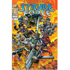 37744 Codinome Strike Force 4 (1997) Editora Globo