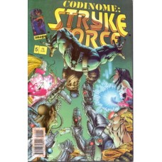 37745 Codinome Strike Force 5 (1997) Editora Globo