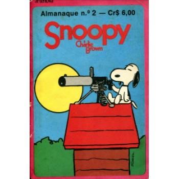 39095 Almanaque Snoopy 2 (1971) Editora Artenova