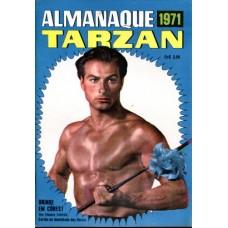 40106 Almanaque Tarzan (1971) Editora Ebal