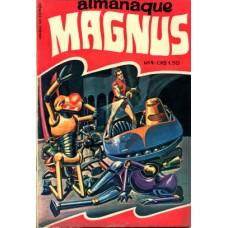 41415 Almanaque Magnus 4 (1971) Editora O Cruzeiro