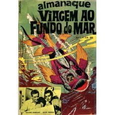 41418 Almanaque Viagem ao Fundo do Mar (1971) Editora O Cruzeiro