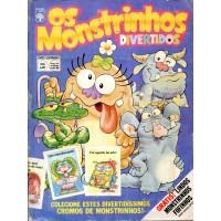 Os Monstrinhos Divertidos (1987) Álbum Ilustrado