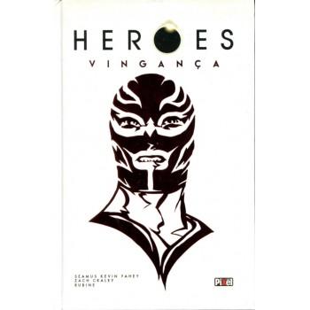 Heroes Vingança 1 (2016) Capa Dura