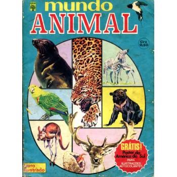 Mundo Animal (1976) Álbum de Figurinhas