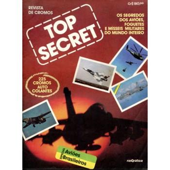 Top Secret (1983) Álbum de Figurinhas