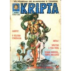 41309 Kripta 23 (1978) Editora RGE