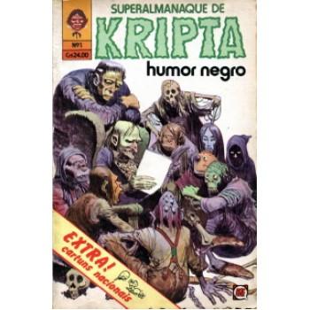 41401 Superalmanaque de Kripta 1 (1980) Editora RGE