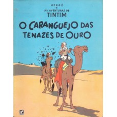 37756 Tintim 25 (1970) O Caranguejo das Tenazes de Ouro Editora Record