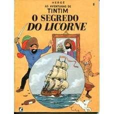 Tintim 9 (1970) O Segredo do Licorne