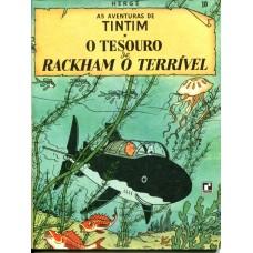 Tintim 10 (1970) O Tesouro de Rackham o Terrível