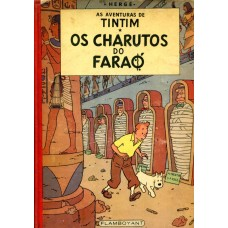 Tintim 9 (1967) Os Charutos do Faraó
