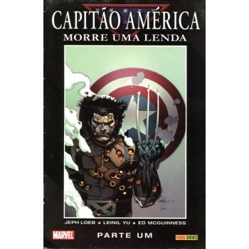 Capitão América Morre Uma Lenda 1 (2008)