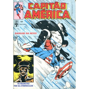 Capitão América 129 (1990)
