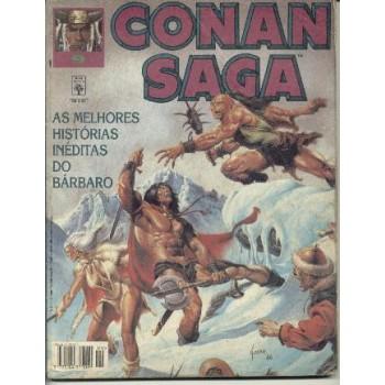 32279 Conan Saga 9 (1995) Editora Abril