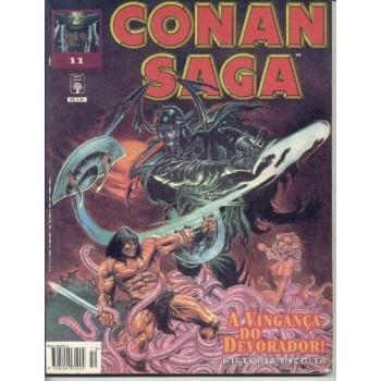 32280 Conan Saga 11 (1995) Editora Abril