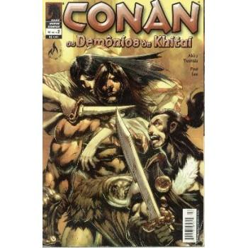32695 Conan os Demônios de Khitai 2 (2005) Mythos Editora